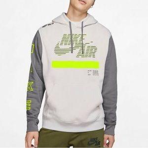 Nike Air Men's Under Construction Hoodie